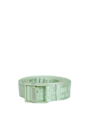 Off-White Mint Mini Industrial Belt