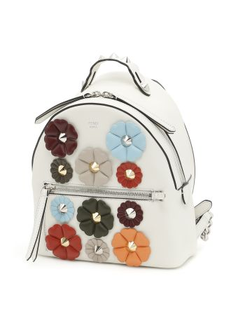 Multicolor Flower Backpack