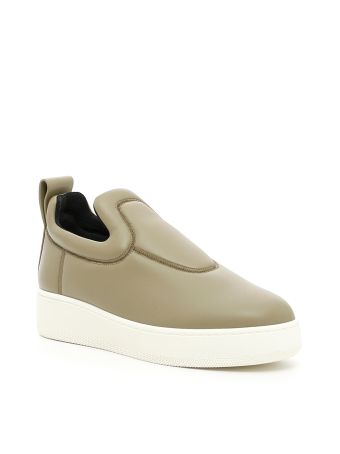 Stretch Nappa Sneakers