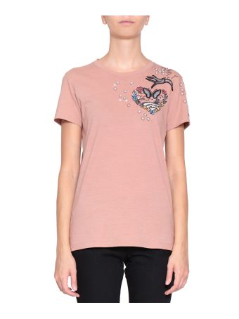Valentino Love Blade Cotton T-shirt