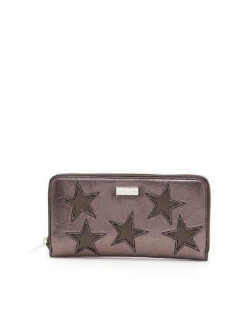 Glitter Wallet With Stars
