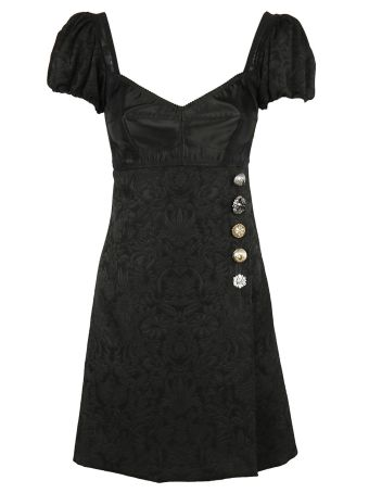 Dolce & Gabbana Corseted Wrap Dress