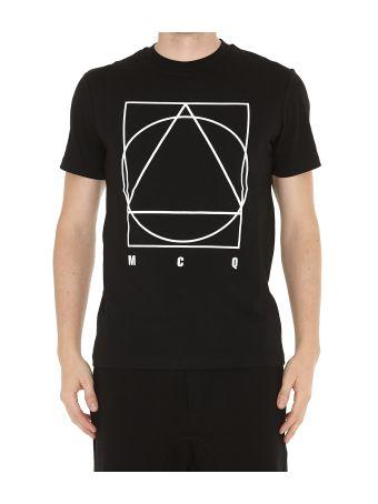 Mcq Alexander Mcqueen Band Icon Tshirt