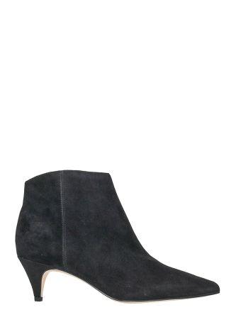 Sam Edelman Kinzey Black Pony Boots