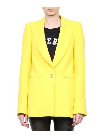 Fausto Puglisi Yellow Wool Blazer