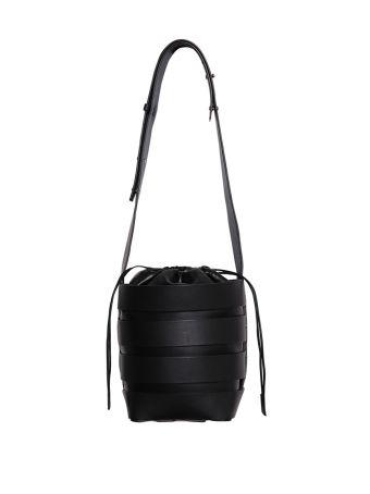 Paco Rabanne Leather Bucket Bag
