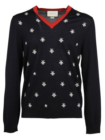 Gucci Bee And Star Jumper