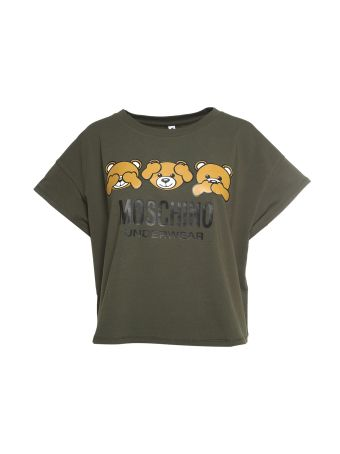 Moschino Teddy Bear Cotton-jersey T-shirt