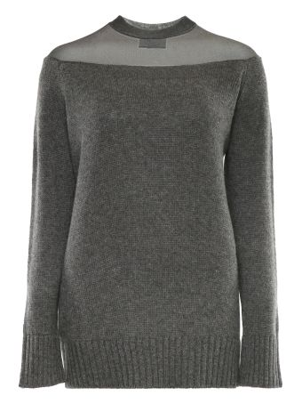 Cashmere And Lamé Pullover