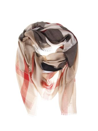 Burberry Wool House Check Scarf