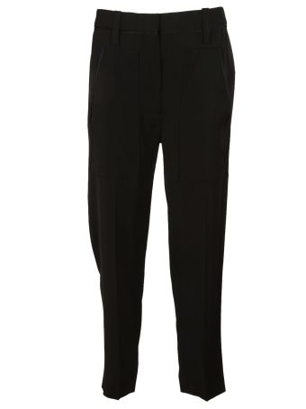 Victoria Beckham Front Pocket Deep Trousers