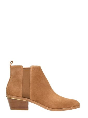 Michael Kors Crosby Ligth Brown Leather Boots