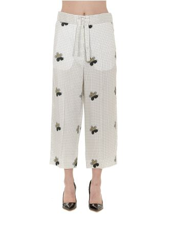 Victoria Beckham Cropped Pyjama Trousers