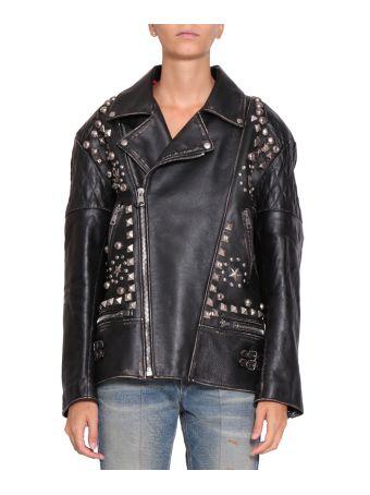 Gucci Future Leather Biker Jacket