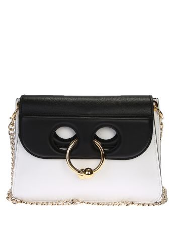 Mini Pierce Leather Shoulder Bag