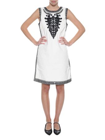 Tory Burch Dress With Embroideries