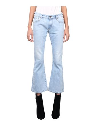 Off-White Bleached Bells Jeans