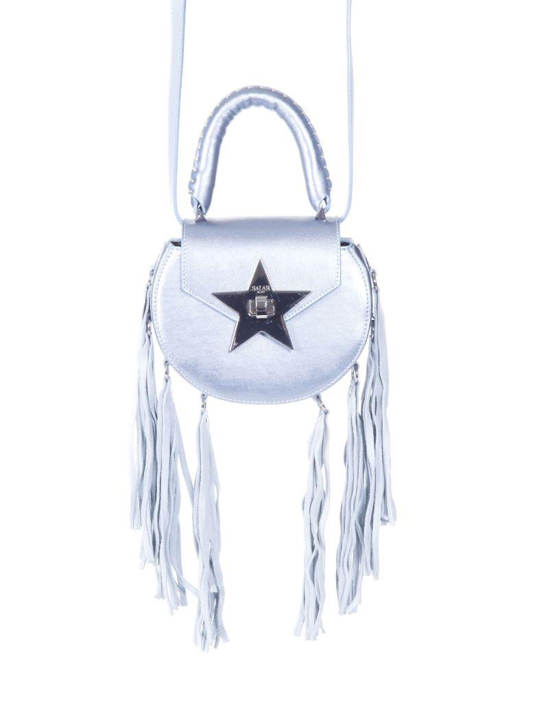 Salar Salar Fringed Leather Shoulder Bag