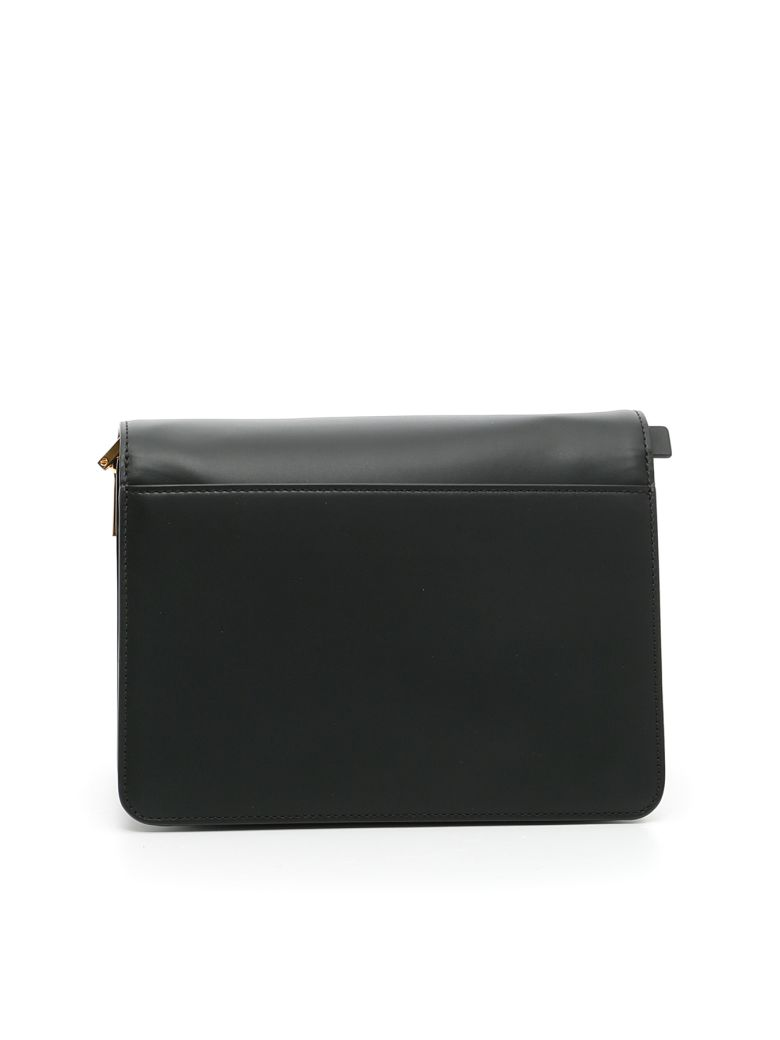 MARNI Trunk Bag in Black Wenge Black|Marrone