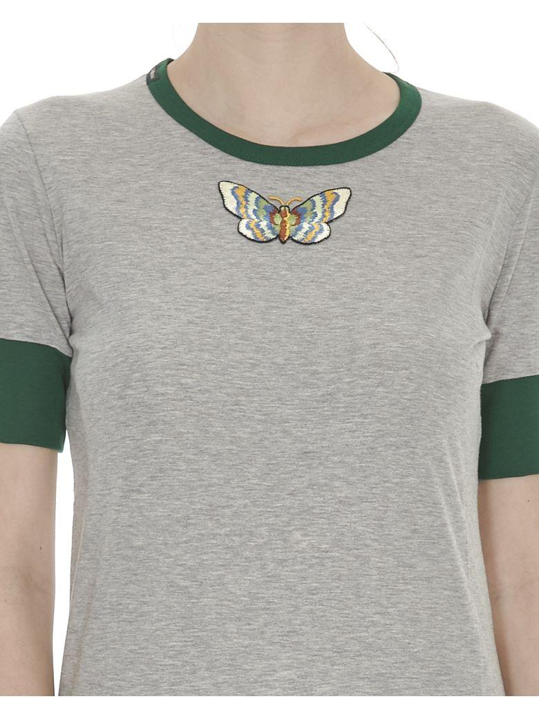 Dolce gabbana dolce gabbana patch tshirt f8j16z for Dolce gabbana t shirt women