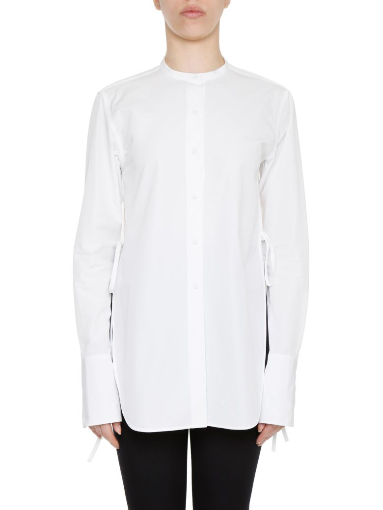 PORTS 1961 Long-Sleeved Shirt in Optic White|Bianco