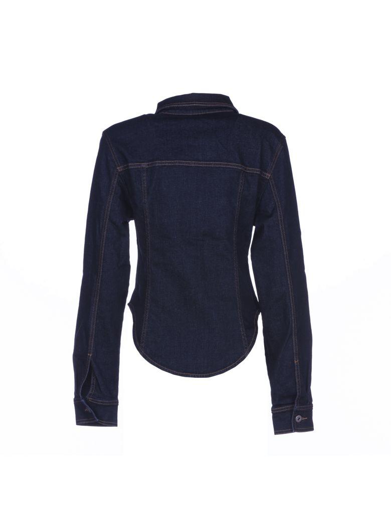 STELLA MCCARTNEY Fitted Denim Jacket in Blue