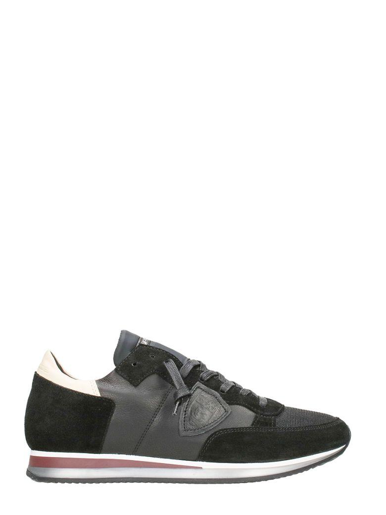 Philippe Model  TROPEZ BLACK SNEAKERS