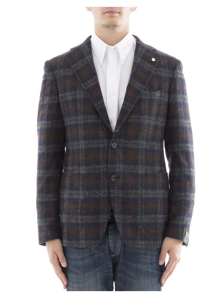 TAGLIATORE Multicolor Cupro Jacket