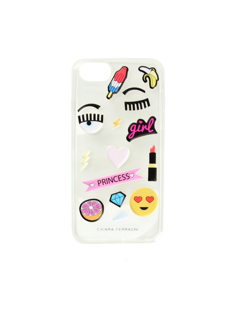 SOFT STICKERS SEE-THROUGH I-PHONE 6-6S-7 CASE