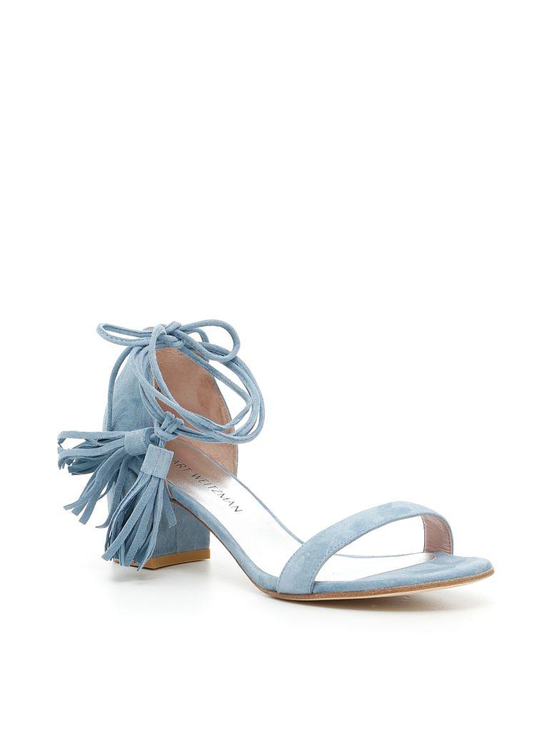 STUART WEITZMAN Spring Sandals in Jeans|Celeste
