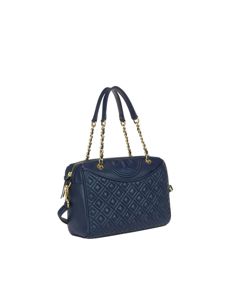 Tory Burch Fleming Duffel Bag Royal Navy