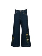 Stella Mccartney Wide Leg Denim Culottes