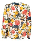 Fausto Puglisi Floral Print Blouse