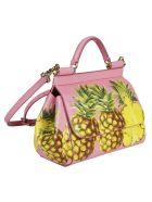 Dolce & Gabbana Pineapple Print Mini Tote