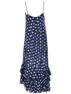 Boutique Moschino Dots Shift Long Dress