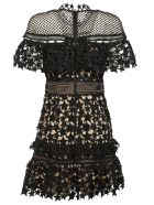 Self Portrait Lace Embroidered Dress