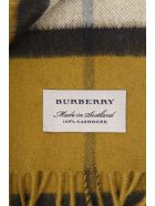 Burberry Check House & Heart Print Cashmere Scarf