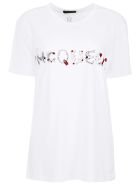 Oversized T-shirt With Animal Letters Print