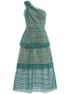 Floral Chain Guipure Dress