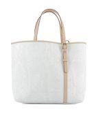 White Leather Shoulder Bag