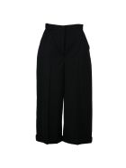 Alexander Mcqueen Wide Leg Cropped Trousers