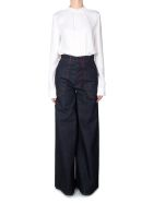 Marni High-rise Wide-leg Jeans