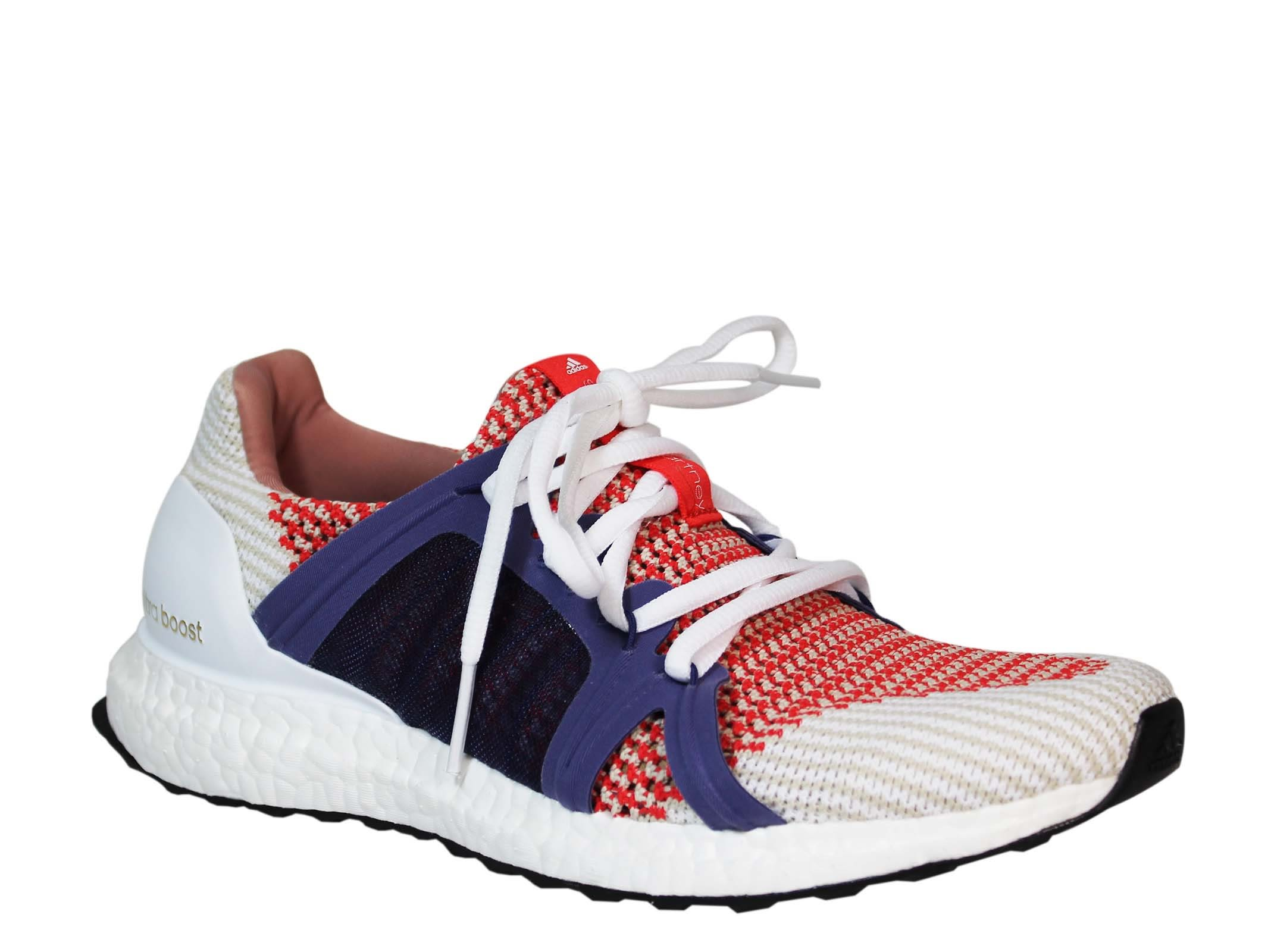 adidas Bright Red Ultra Boost Low Sneakers Wiki For Sale S43rzm