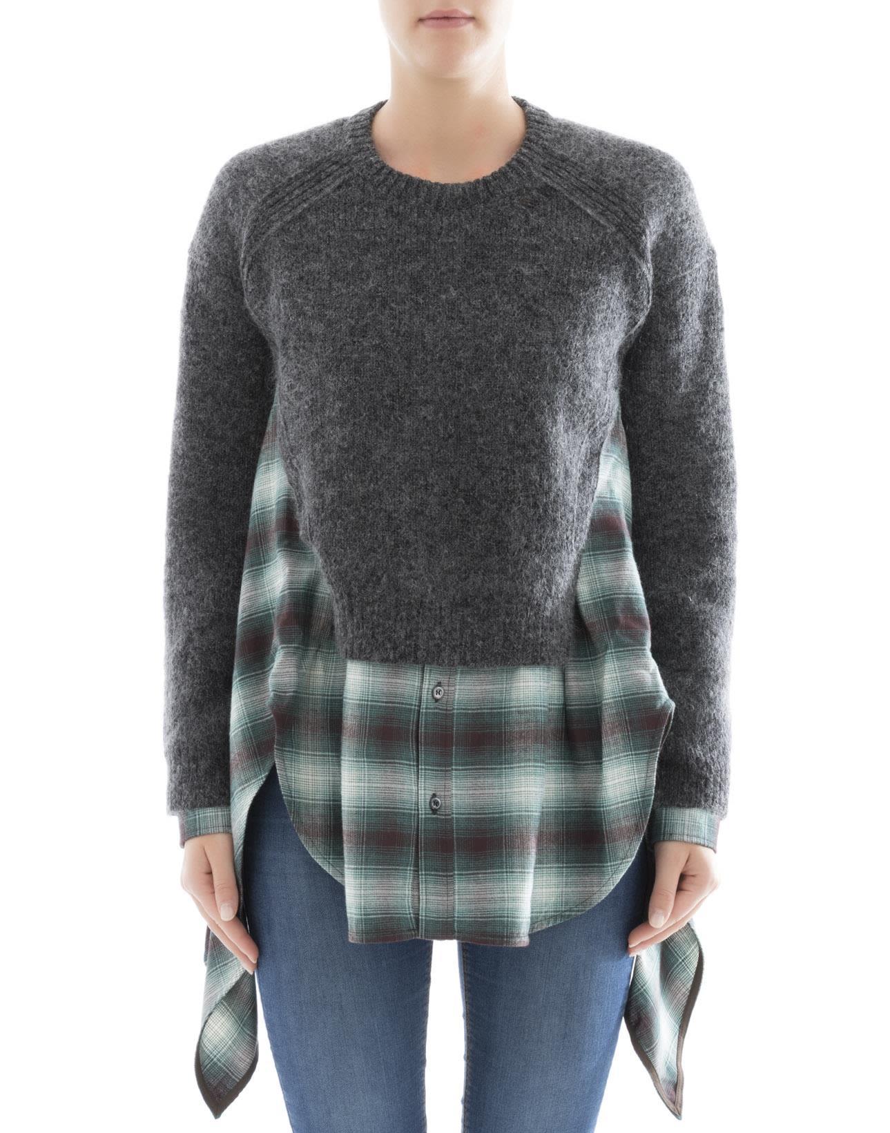 Multicolor Cotton Sweater