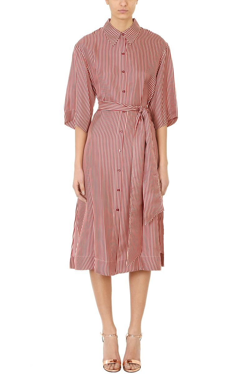 Diane Von Furstenberg 3 -4 Belt Dress