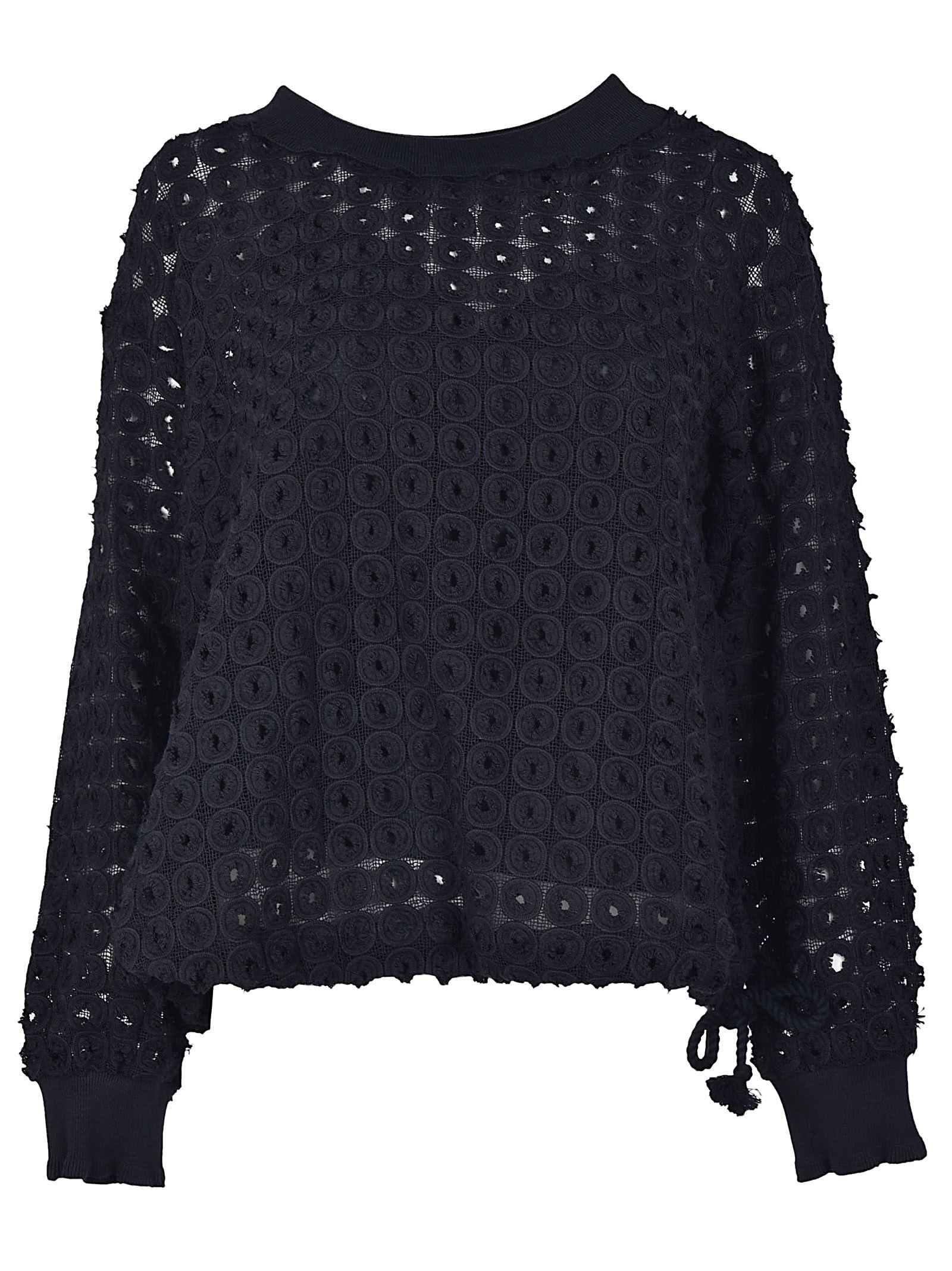 See By Chloé Textured Sweatshirt