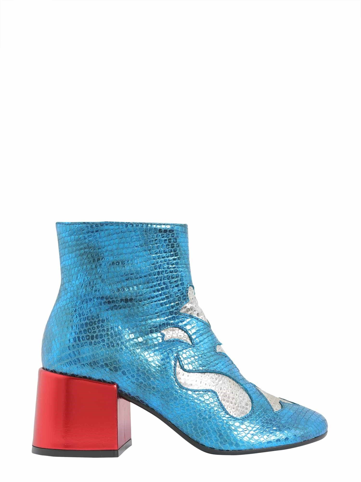 David Bowie Ankle Boots