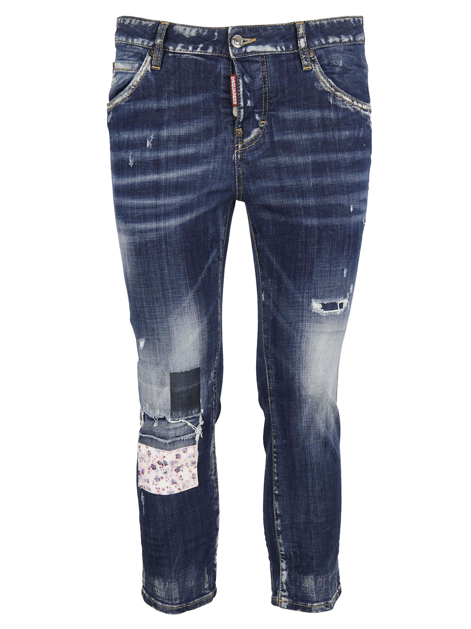 Dsquared2 Cool Girl Destroyed Skinny Jeans
