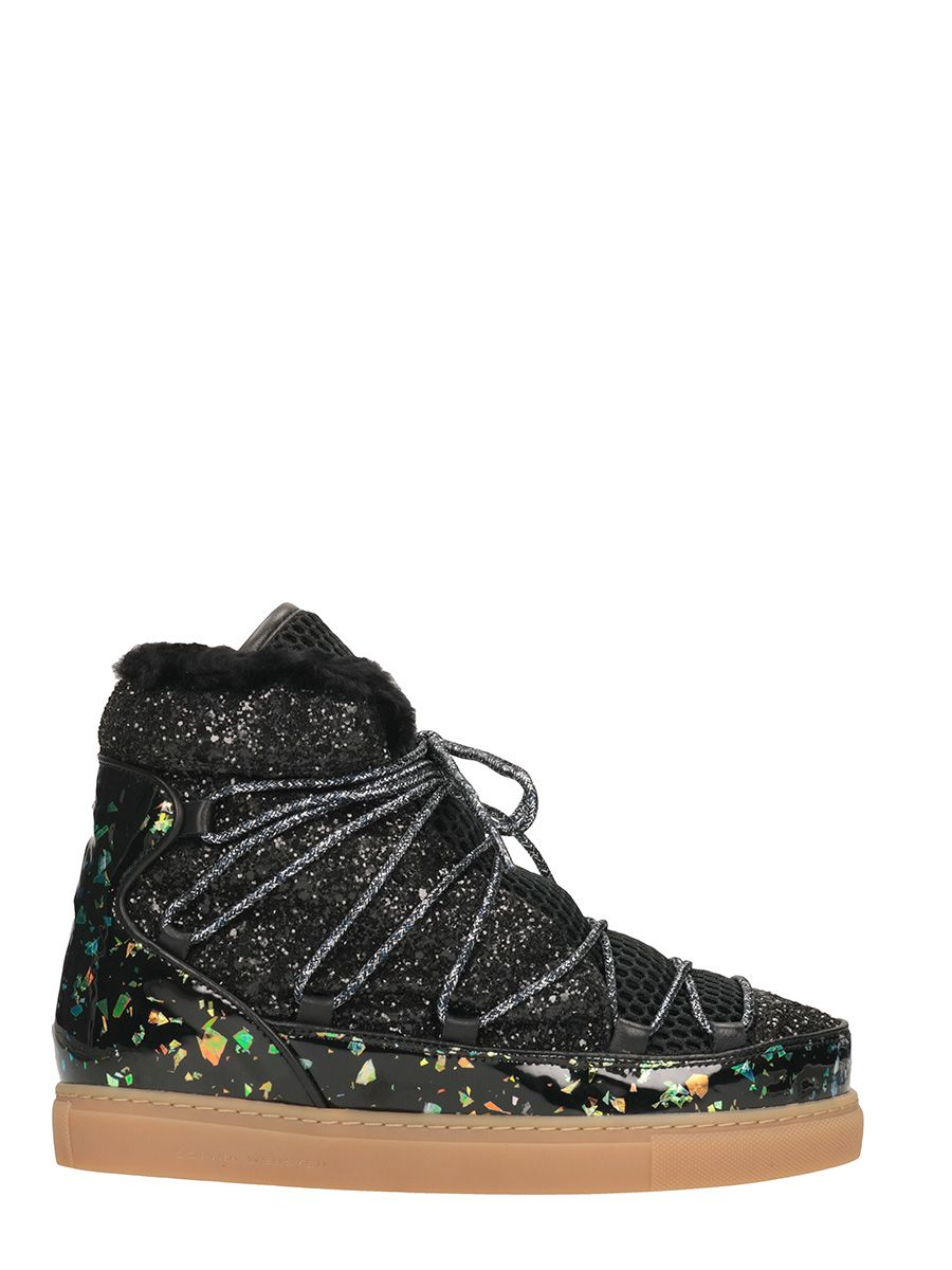 Sophia Webster Quentin Wan Fur Insert Snow Boots