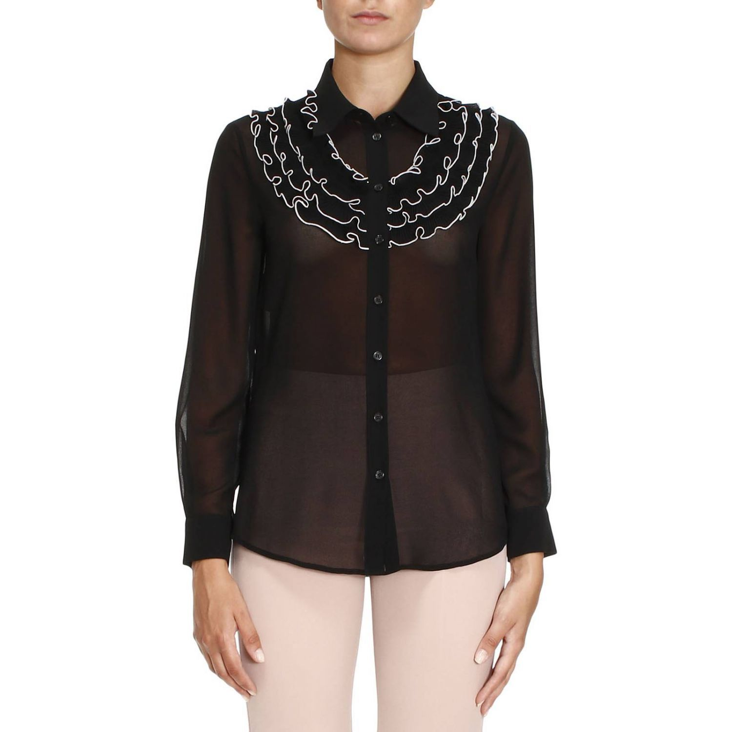 Shirt Shirt Women Boutique Moschino